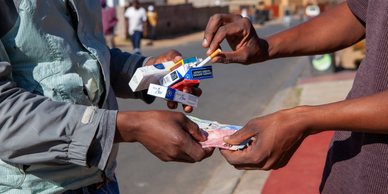 South Africa is possibly the world's largest black market for cigarettes
