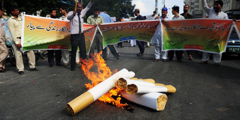 Pakistan: Tobacco control activists demand increase in FED on tobacco products
