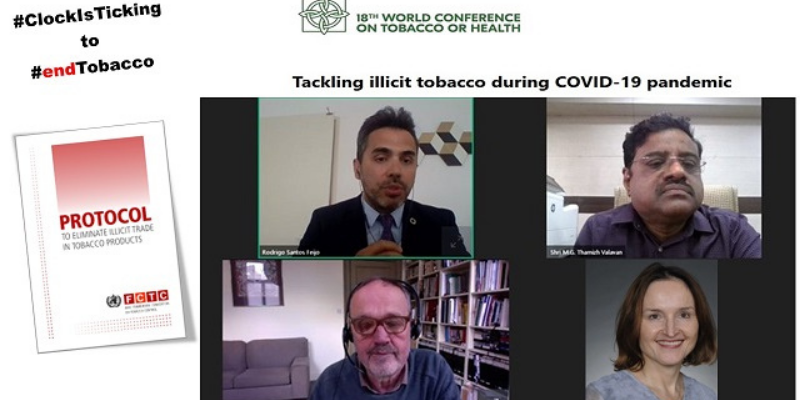 Pakistan: Eliminating illicit tobacco trade is a step towards #EndTobacco and SDGs.