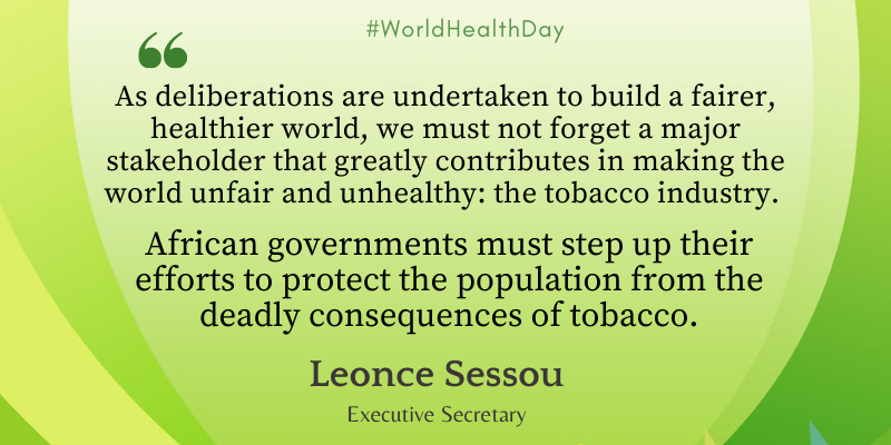 We can build a fairer, healthier Africa when we effectively tackle the maneuvers of the tobacco industry.