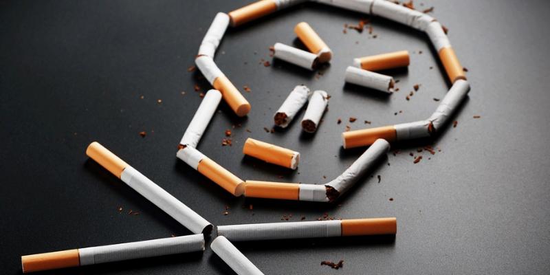 Cigarettes et écran de fumée sur le continent africain