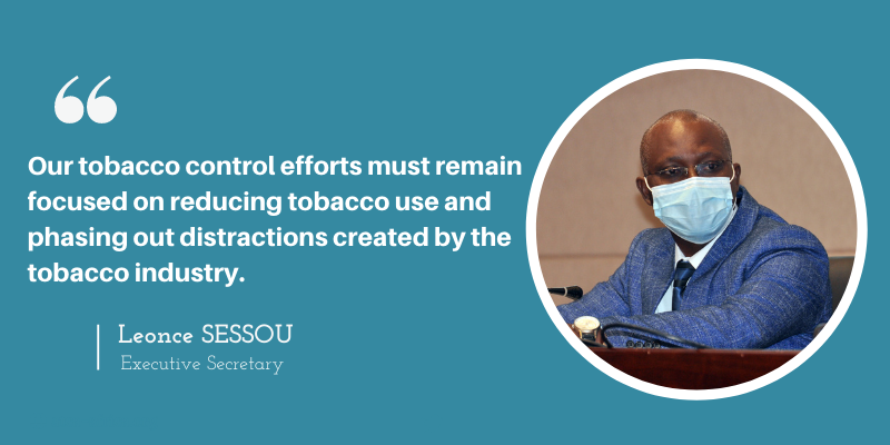 Africa must strive to keep low its rate of current and projected sales of new technology tobacco products